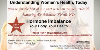 Hormone Imbalance: Your Body, Your Health