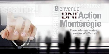 BNI Action Montérégie tickets
