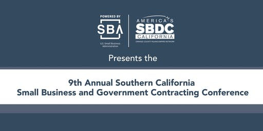 9th Annual Southern California Small Business and Government Contracting Conference