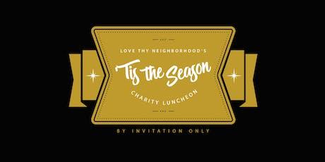 'Tis the Season Charity Luncheon 2019 tickets