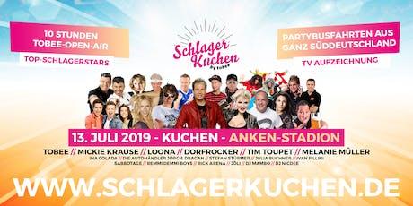 Schlagerkuchen 2019 - Das große Schlagerfestival von TOBEE Tickets