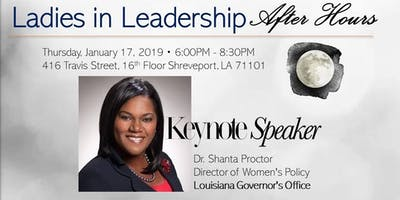Ladies in Leadership After Hours - Featuring Dr. Shanta Proctor