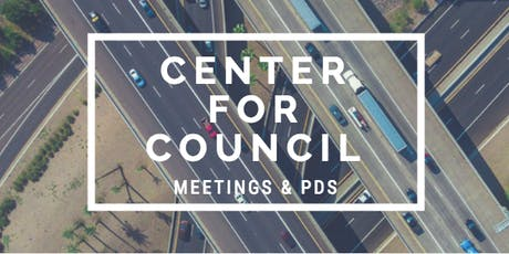 Center for Council - Trainer Meeting    Aug 17, 2019 tickets