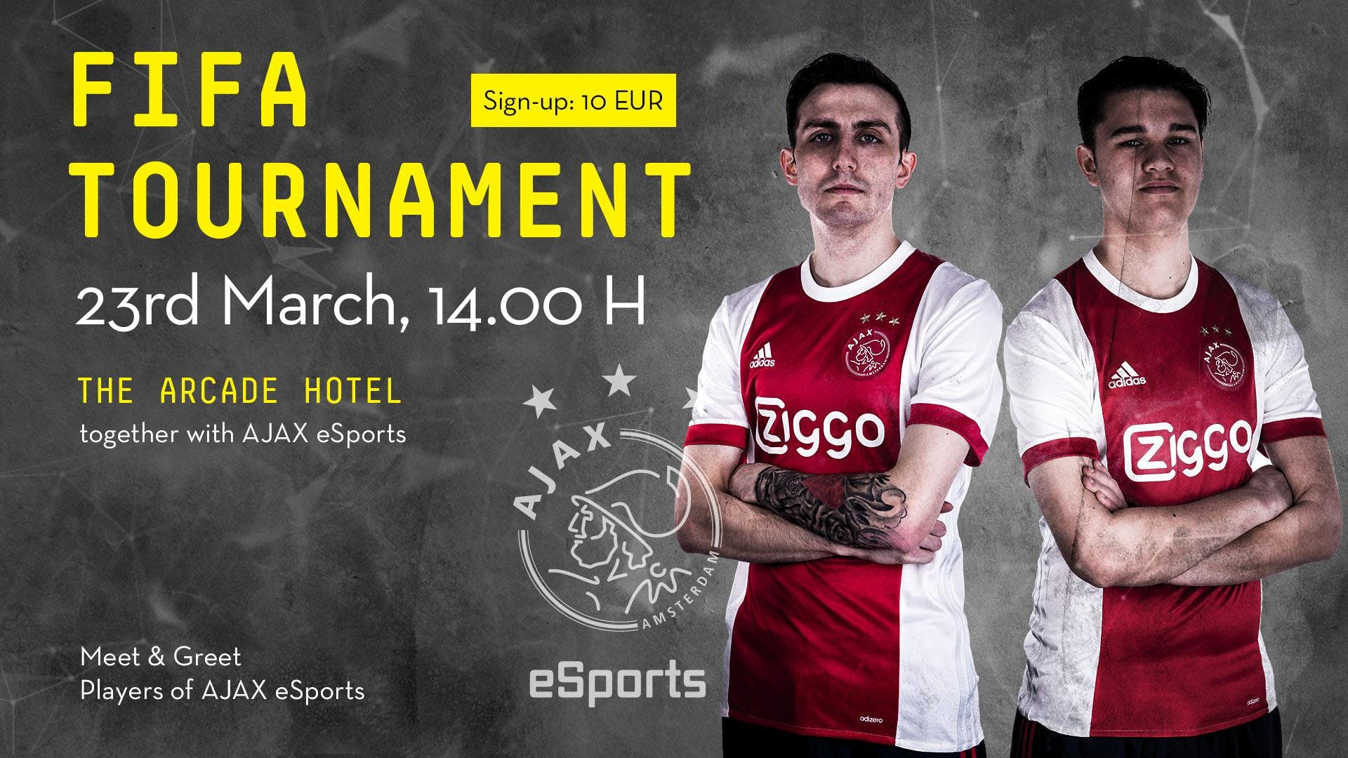The Arcade Hotel, FIFA Championships March