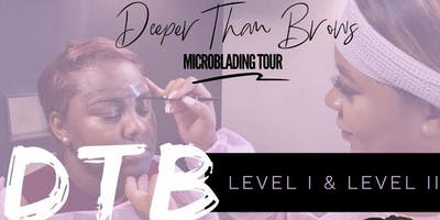 """DETROIT """"Deeper Than Brows"""" Microblading Classes"""