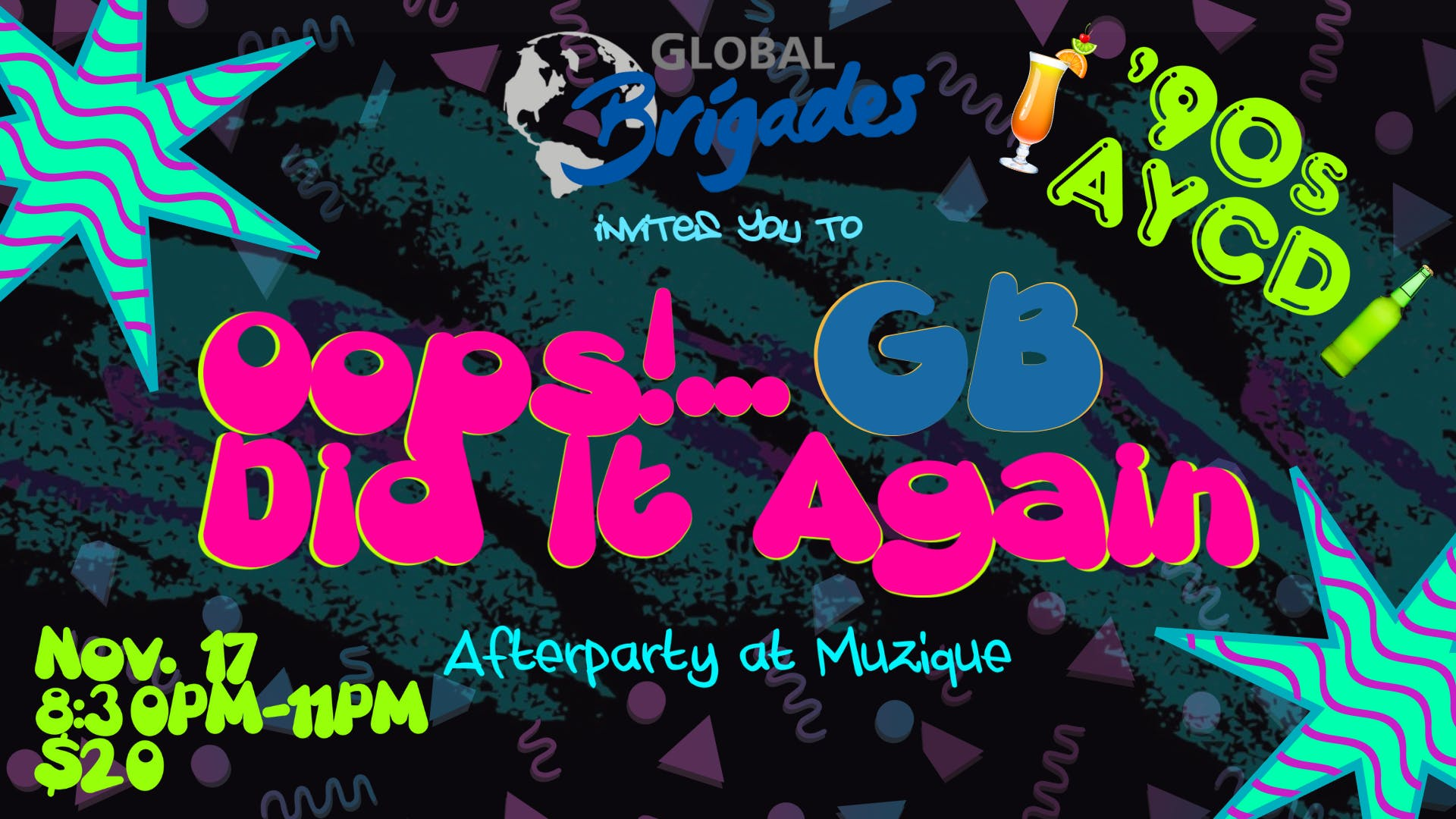 Oops ! GB did it again...back to the 90's AYC