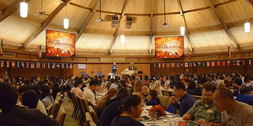 FREE Thanksgiving Banquet for Internationals