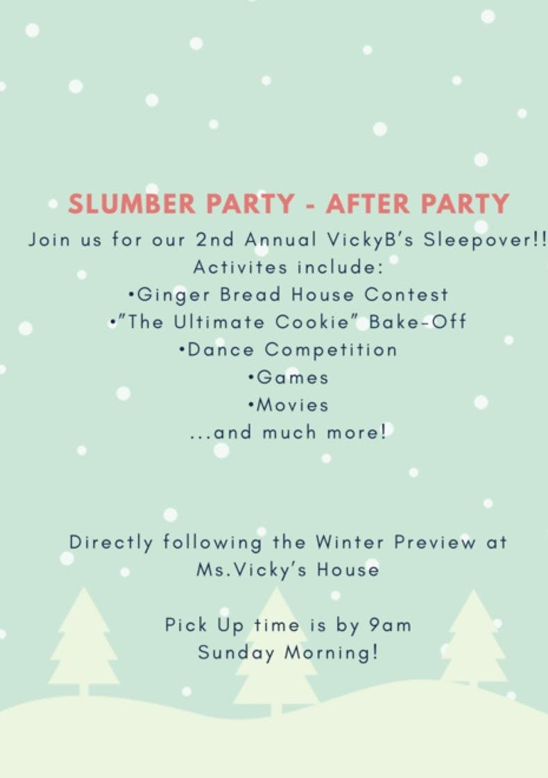 VickyB's 2nd Annual Slumber Party