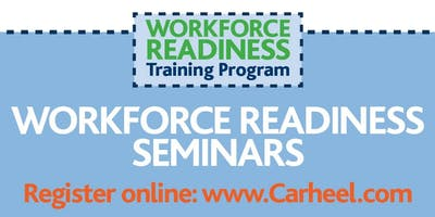 Job Search Strategies Seminar, presented by the Workforce Training Scholarship Program, sponsored by Sasol 1/23