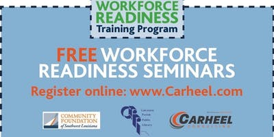 Communication & Networking Seminar, Presented by the Workforce Training Scholarship Program, sponsored by Sasol 2/27