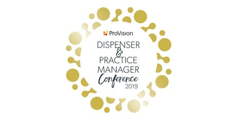 ProVision Dispenser & Practice Manager Conference 2019 tickets