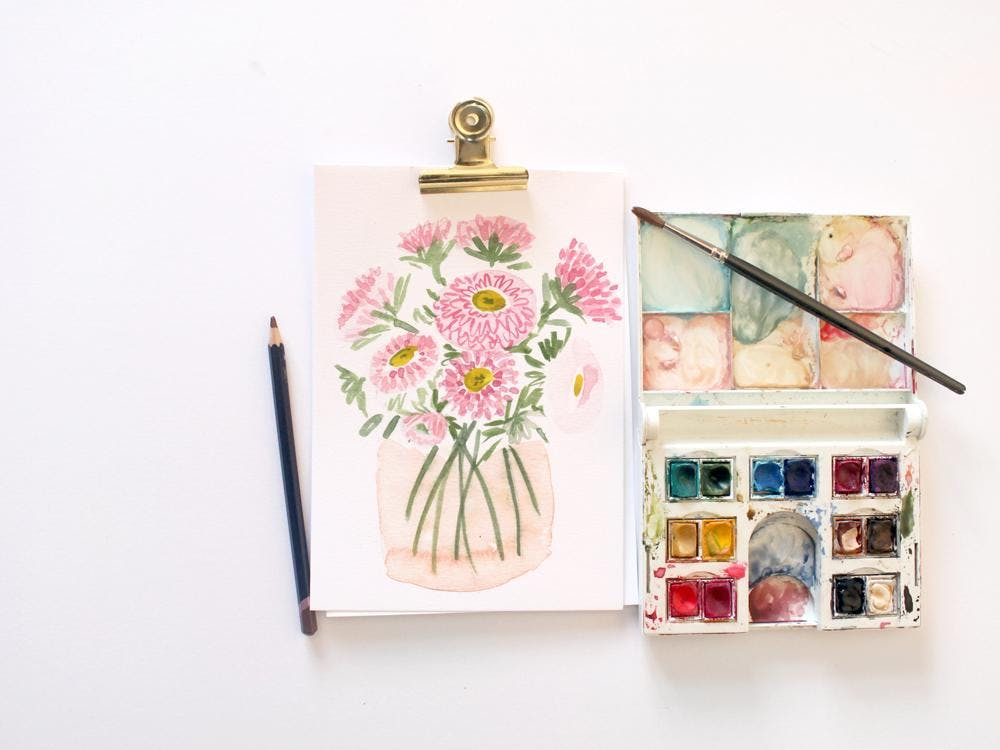 Introduction to Watercolours Workshop