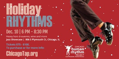 Holiday Rhythms @ the Jazz Showcase! Dec 10.
