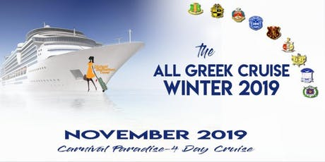 All Greek Cruise Winter 2019 entradas