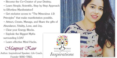 """Workshop on \""""How to Practise the Law of Attraction - LOA Simplified!\"""""""