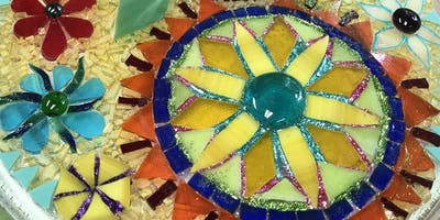 Stained glass mosaic workshop