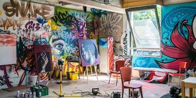 Bedrock Art Monthly Artist Meeting