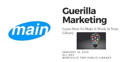 Guerrilla Marketing in the Library w/ David Vinjamuri