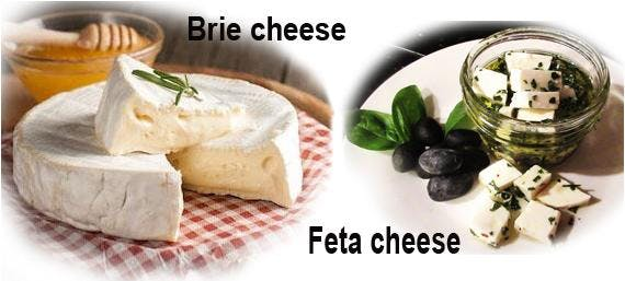 BRIE & FETA Cheese Making Class - A bloomy rind Cheese & Greek FETA Cheese - 2 cheese in 2 hourse