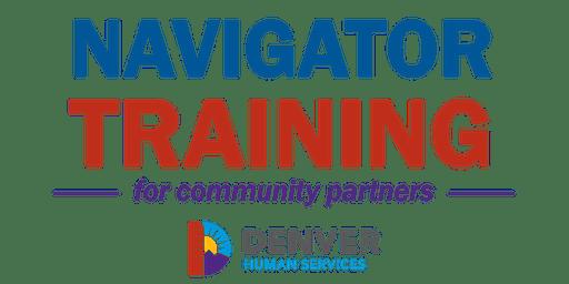 Denver Human Services Navigator Training