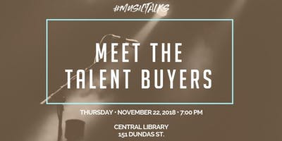 #MusicTalks: Meet The Talent Buyers