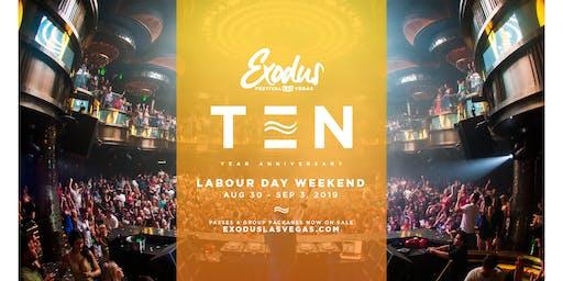 Exodus Festival Las Vegas / Season 10 - Labor Day Wknd