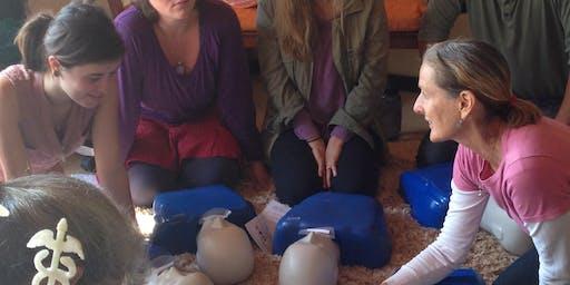 圣何塞:一个红十字会成人-儿童CPR-AED和急救班