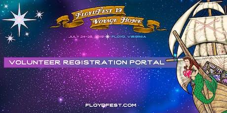 FloydFest 19~Voyage Home Volunteer Registration Portal tickets