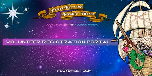 FloydFest 19~Voyage Home Volunteer Registration Portal