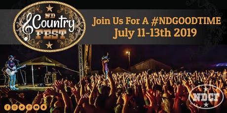 ND COUNTRY FEST 2019 tickets