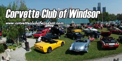 Windsor Waterfront Corvette Show 2019