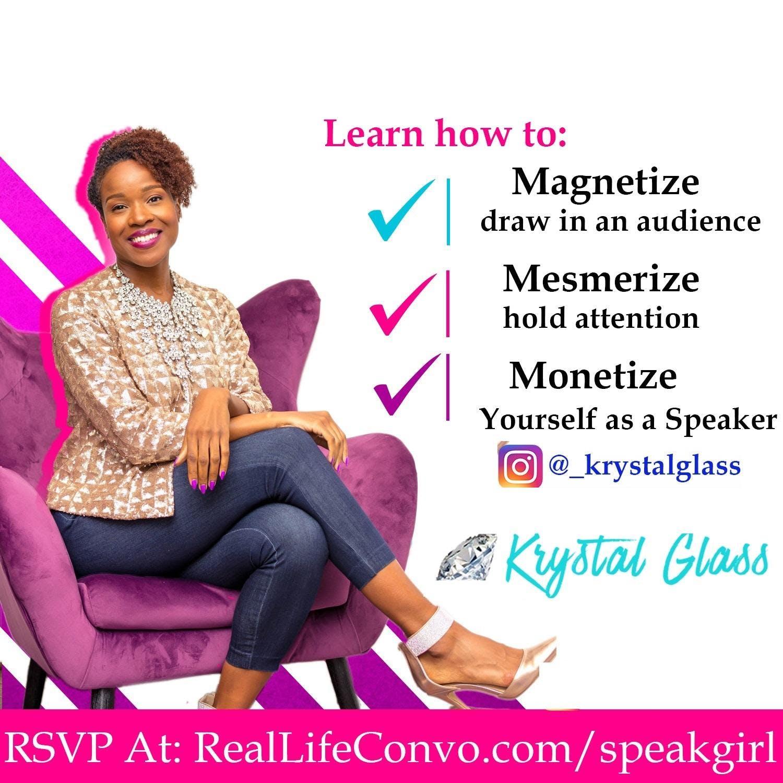 Public Speaking Training. Part 2: Mesmerize