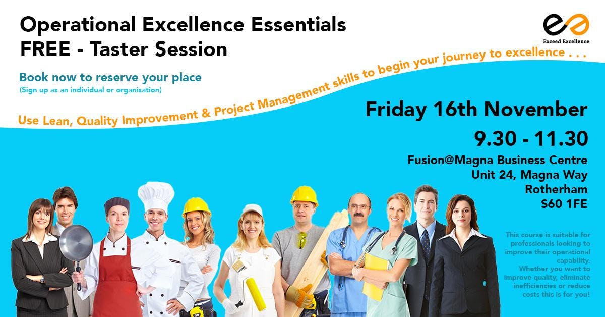 Operational Excellence Essentials: FREE Taste
