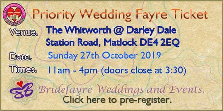 Darley Dale Spooky Wedding Fayre @ The Whitworth tickets