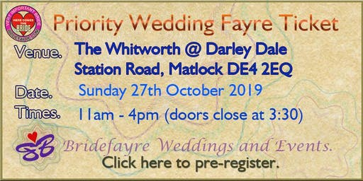 Darley Dale Spooky Wedding Fayre @ The Whitworth