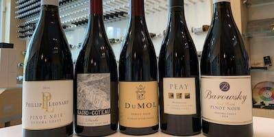 Sonoma Pinot Noir Tasting