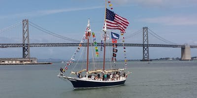 Opening Day on the Bay 2019 - Schooner Freda B