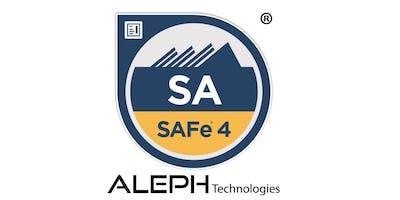Leading SAFe 4.5 - SAFe Agilist(SA) Certification Workshop - Boston, Masachusetts