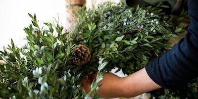 Hand-Tied Wreath Making - Bear Creek Distillery