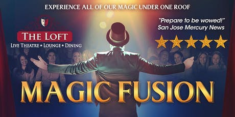 Magic Fusion Starring Robert Hall tickets