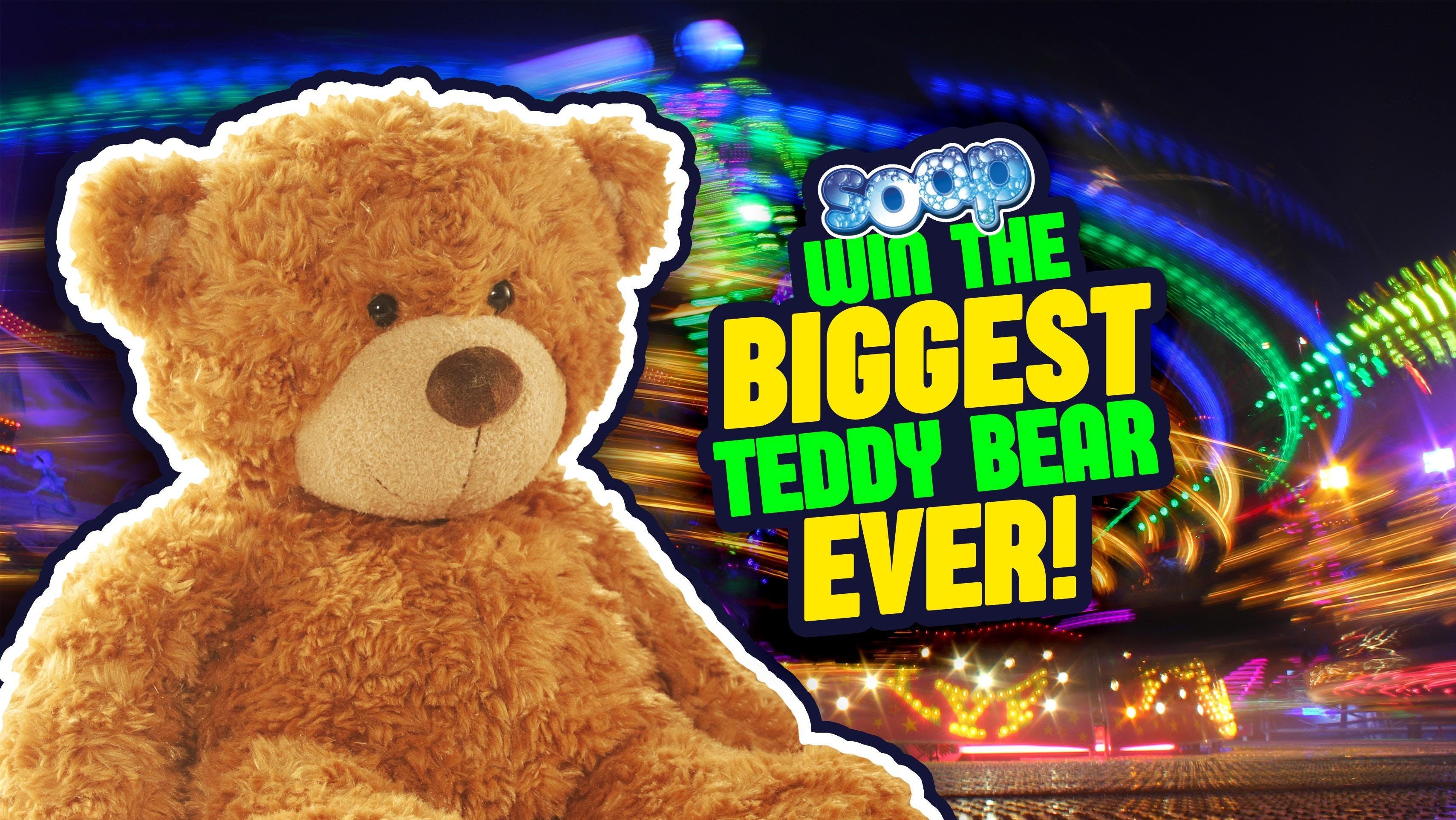 Win The Biggest Bear Ever / SOAP Ashford