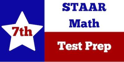 7th Grade STAAR Math Test Prep