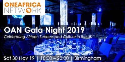 One Africa Network (OAN) Gala Night 2019 - Birmingham