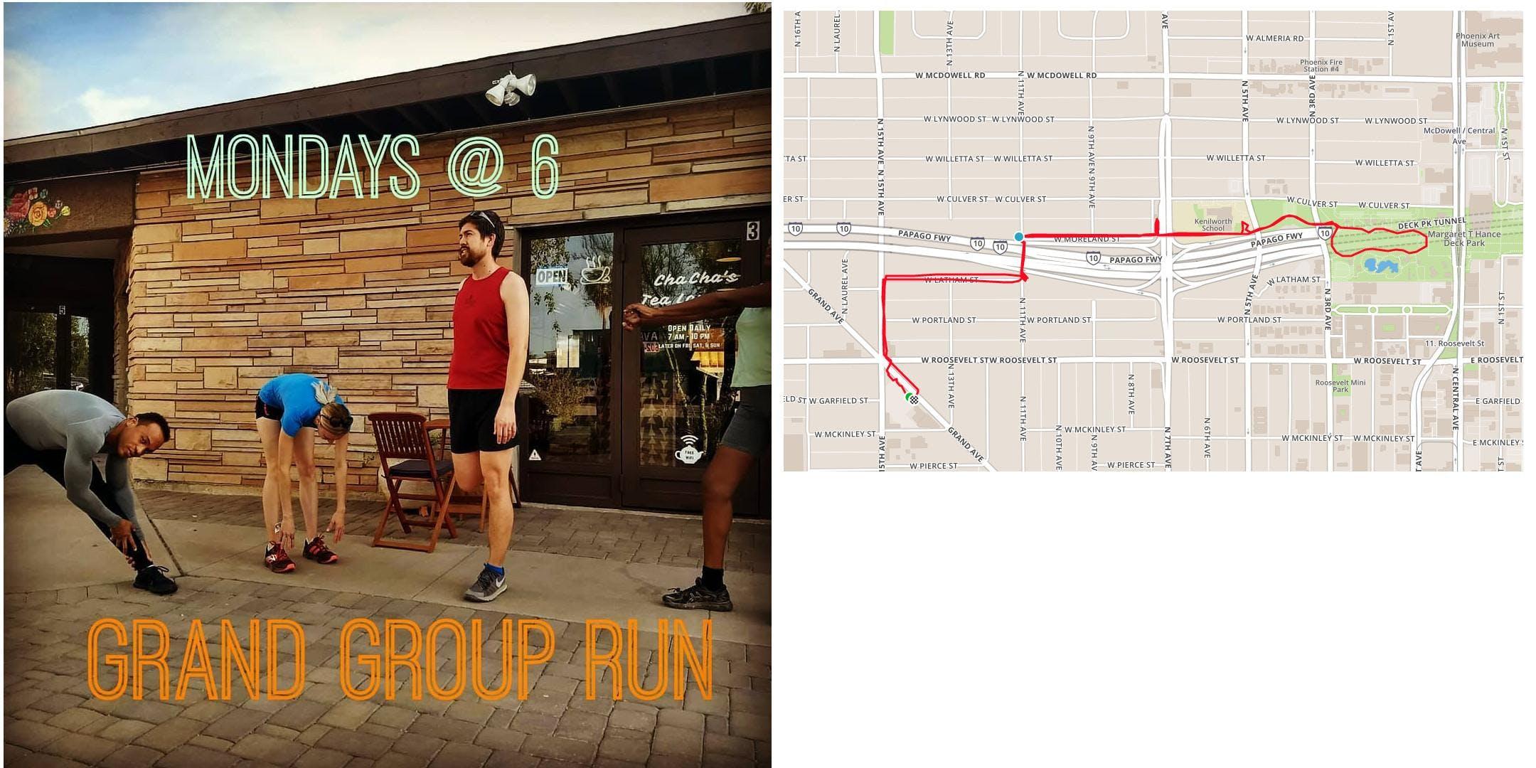 Monday Night Group Run