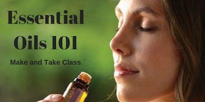 Essential Oils 101 Make and Take