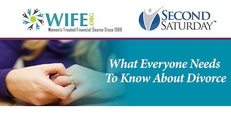 Second Saturday Divorce Workshop (Gilbert) - September tickets