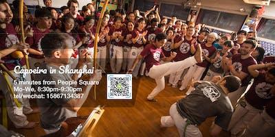 Free capoeira class in Shanghai