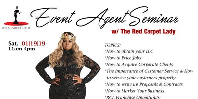 Event Agent Seminar by Red Carpet Lady