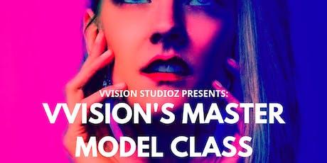 VVisions Master Model Class: Lighting & Posing tickets