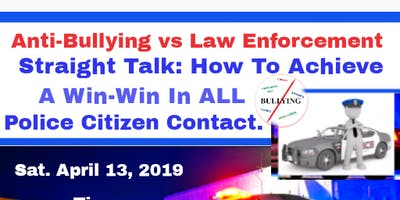 Anti-Bullying vs Law Enforcement Workshop